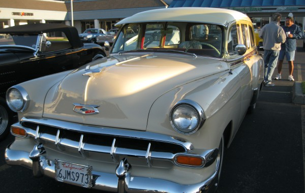 1954 Chevrolet Tin Woody Restoration