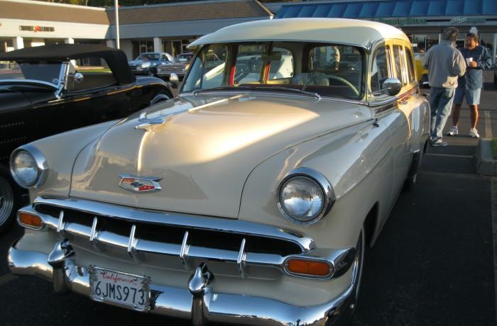 1954 Chevrolet Tin Woody Restoration