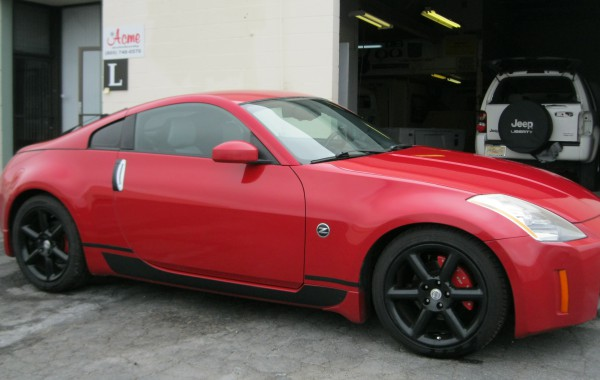 Nissan 350Z Autobody Repair