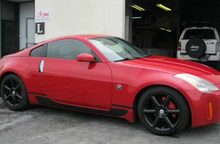 Nissan 350Z Autobody Repair