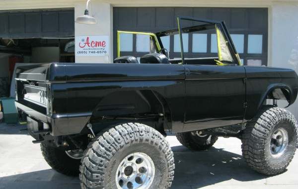 1968 Ford Bronco Restoration