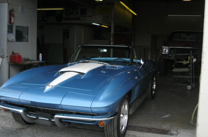 1967 Corvette Convertible Restoration